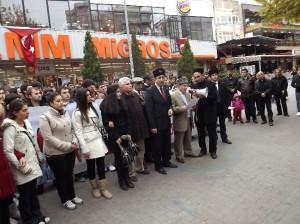 Ahıska Türkleri İçin Sessiz Yürüyüş