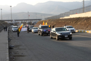 Barzani ve Perwer, Habur'dan Giriş Yaptı