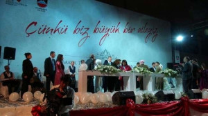 Erdoğan ve Barzani Diyarbakırlı 400 Çiftin Nikah Şahidi Oldu
