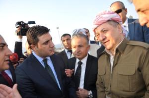 Mesut Barzani ve Şivan Perver Türkiye'ye Giriş Yaptı