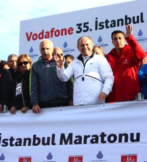 Vodafone İstanbul Maratonu'ndan Renkli Kareler