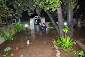 Sardunya Adası'nda Hortum Dehşeti
