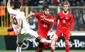 Türkiye - Belarus Maçından Kareler