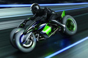 Karşınızda Şekil Değiştiren Motosiklet: Kawasaki J