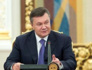Ukrayna Cumhurbaşkanı Yanukoviç, Viyana'da