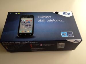 Türk Telekom'dan Evlere Özel Akıllı Telefon: E4