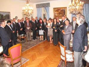 Büyükelçi Karakaş Manisa Tso Heyetini Evinde Ağırladı