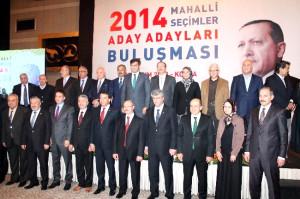 Konya'da Ak Partili Aday Adayları Buluştu