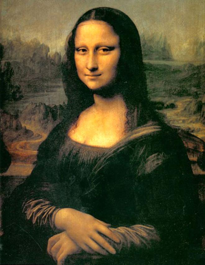 Mona Lisa'nin Saklı Şifresi Gözlerinde Bulundu