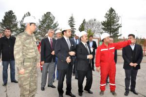 Vali Aydın: Türkiye'nin En Büyük Karbondioksit Gaz Üretim Tesisi Siirt'te