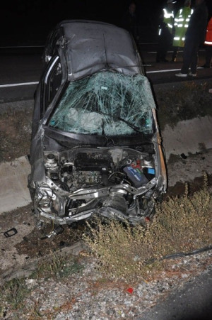 Bulgar Turistler Kaza Yaptı: 2 Yaralı