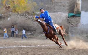 Cirit Müsabakası Sonrası Çocuklar At Binmenin Keyfini Yaşadı