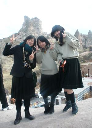 300 Öğrenci ve 16 Öğretmen Japon Öğrenci Grubu Kapadokya'yı Gezdi