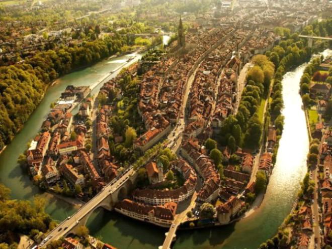 Dünya Şehirlerinin Kuşbakışı Görünüşü