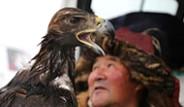 Kazakistan'da Uluslararası Kartal Festivali Yapıldı