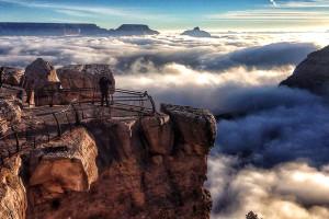 Bulutların Büyük Kanyon'u İstilası Ortaya İnanılmaz Görüntüler Çıkardı