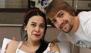Caner Erkin ve Asena Erkin Mutluluk Pozları Veriyor