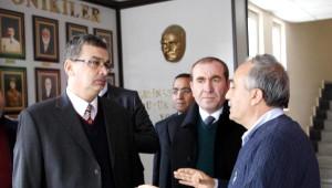 Güvenç, Fakıbaba'yı Ziyaret Etti