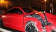 Beşiktaşlı Futbolcusu Kaza Yaptı