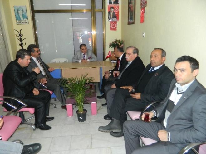 DYP Milas İlçe Binası Açıldı