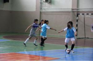 Genç Kızlar Futsal' da Birinci Refahiye Oldu