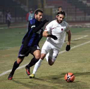 Gaziantep Büyükşehir Belediyespor - Tavşanlı Linyitspor Maçının İlk Yarısı 1-0 Tamamlandı