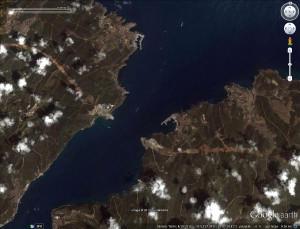 Uzaydan 3. Köprü Güzergahı