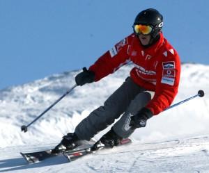 Yaşayan Efsane Schumacher, Kayak Pistinde Kaza Geçirdi