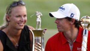 Ünlü Tenisçi Caroline Wozniacki ile Rory Mcılroy Nişanlandı