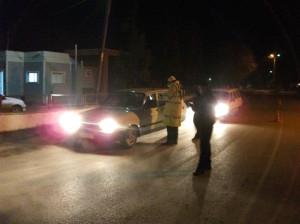 Polis, Yeni Yılın İlk Saatinde Trafik Kontrolü Yaptı
