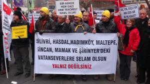 Ankara'da 'Sessiz Çığlık' Eylemi