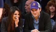 Ashton Kutcher ve Mila Kunis'in Aşkı Objektiflere Takıldı