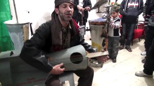 Silahlar Suriye'de Sanata Dönüştü
