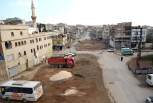 Şehitkamil Belediyesi Reşadiye Caddesini Genişletiyor