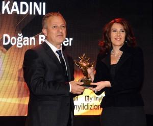 Hanzade Doğan Boyner'e 3'üncü Kez 'En İyi İş Kadını' Ödülü