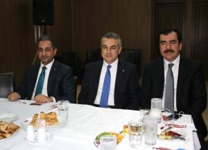 Mustafa Savaş Gazetecilerle Bir Araya Geldi