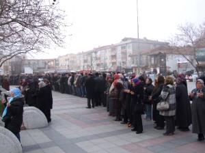 Vatandaşlar Şarköy Meydanı'nda Yağmur Duası İçin Buluştu