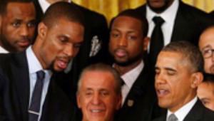 Miami Heat Obama'ya Kupa Verdi