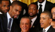 Miami Heat Obama'ya Kupa Verdi