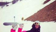 Ebru Şallı ve Sinan Akçıl Yine Alpler'de