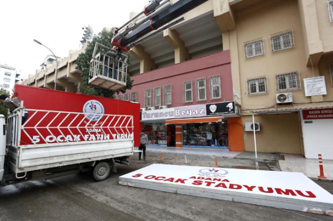 Fatih Terim'in İsmi Adana 5 Ocak Stadı'na Verildi