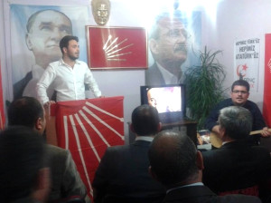 Uğur Mumcu Erzurum'da CHP'li Gençler Tarafından Anıldı