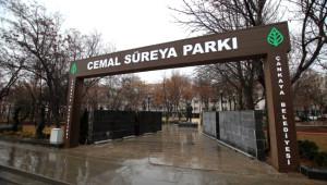 Cemal Süreya Parkı Törenle Açıldı