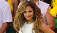 Jennifer Lopez,2014 Dünya Kupası Tanıtım Çekimlerine Katıldı