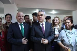 AK Parti'nin Adayları Seçim Bürosu Açılışında Bir Araya Geldi