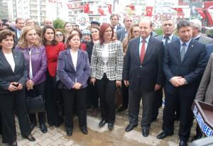 Türkan Saylan Parkı Törenle Açıldı
