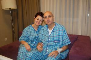 14 Şubat'ta Eşine Canından Bir Parça Verdi