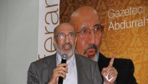 Gazeteci-Yazar Abdurrahman Dilipak Açıklaması