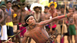 Yerlilerin Olimpiyatı Böyle Olur