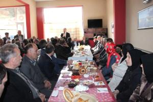 Başkan Gümrükçüoğlu Tonya'da